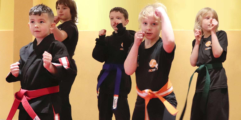Kids Kickboxing Classes | Little Samurai Ages 7-10 | Newport City Martial Arts