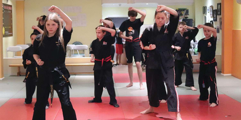 Teenagers Kickboxing Classes | Samurai Ages 11-14 | Newport City Martial Arts